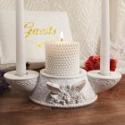 Love Dove Unity Candle Holder