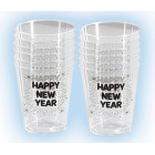 Happy New Year Shot Glasses New Year's Eve Party Favors 12 Ct