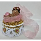 Ethnic Baby Girl Princess Baby Shower Cake Top Favor Decoration