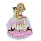 Birthday Girl Cake Topper Decoration Keepsake Gift 7 inch H