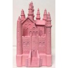 "9"" Pink Fairy Tale Castle Cake Top Centerpiece for Birthday Wedding Sweet 16"