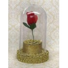 Beauty and The Beast Birthday Belle Rose Dome Cake Topper Gift Centerpiece Decoration