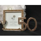 50th Anniversary or Birthday Photo Frame Gift