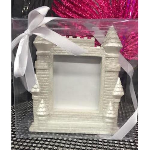 Castle Picture Frame Favor or Gift Keepsake