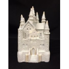 Princess White Castle Party Decoration Cake Topper Favor