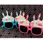 Birthday Party Funny Cupcake Pink or Blue Sunglasses Novelty Party Supplies