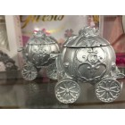Cinderella Fairy Tale Dream Silver Carriage for Wedding Sweet 16 Child Birthday Party