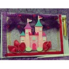Birthday Princess Castle Guest Book Signature Keepsake