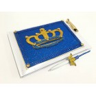 Royal Prince or Princess Guest Book Birthday Party Keepsake Gift