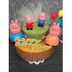 Peppa Pig Birthday Party Cake Topper Centerpiece Party Decoration