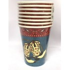 Western Cowboy Cowgirl Bevearge Cups Table Party Supplies 8 Pieces