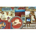 Western Cowboy Cowgirl Themed Table Party Supplies Set 60 pieces