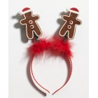 Gingerbread Man Headband Christmas Accessory Gift Keepsake
