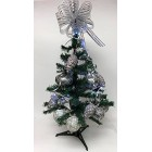 Christmas Tree 40 Tip 2 Ft High Decorative Green Pine Tree Ornaments and Stand