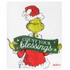 Dr Seuss Grinch Count Your Blessings Canvas Wall Art Home Decoration Theater Media Room Man Cave