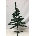 Christmas Tree 40 Tip 2 Ft High Decorative Green Pine Tree with Stand
