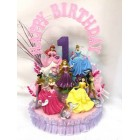 Disney Princess Birthday Cake Topper or Centerpiece