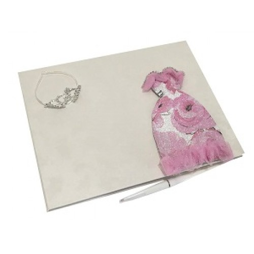 dac741865cf Quinceanera Dress Unique Guest Book with Mis Quince Anos Mini Rhinestone  Tiara Princess Sweet 15 Design Choose Style