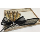 Quinceanera Rhinestone Crown Guest Book Mis Quince Anos Libro De Firmas Signature Book