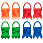 Dinosaur Foam Feet Costume Party Accessories 8 Count