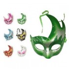 Pack of 6 Masquerade Masks for Halloween, Cosplay, Dress-Up mardi Gras Costume Accessory Party Supplies