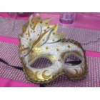 Masquerade Venetion Style Party Gold Mask Halloween Mardi Gras