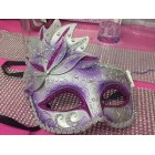 Masquerade Venetion Style Party lavender Mask Halloween Mardi Gras