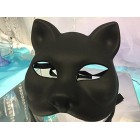 Black Cat Halloween Girl Mask Feline Gift Keepsake or Decoration