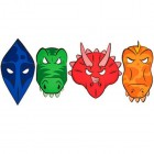 Dinosaur Foam Masks Costume Party Accessories 8 Count