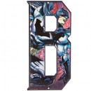 Batman Superhero Letter B Metal Sign Home Decoration Wall Art Media Room Man Cave