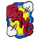 Bang Metal Sign Kids Room Superhero Home Decor Wall Decoration