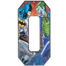 Batman vs Joker Superhero Letter O Metal Sign Home Decoration Wall Art Media Room Man Cave