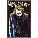 Why So Serious Joker Wood Wall Art Home Decoration Theater Media Room Man Cave