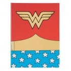 Multicolored Classic Wonder Woman Journal Notebook
