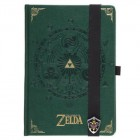 Green and Gold Legend of Zelda Journal Notebook