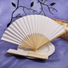Folding Paper Favor Fans for All Occasions
