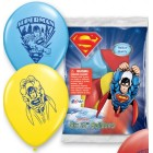 "Superman 12"" Latex Balloons 6 Count"