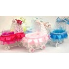 Plastic Baby Shower Carriage Favors 10 Ct