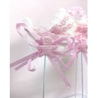 Baby Shower Carriage Favor Pick Cake Decoration 12 Ct Pink
