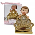 Princess Favor Baby Shower Birthday Party Favor Girl Princess Tiara Figurine Keepsake Decoration 10 Ct