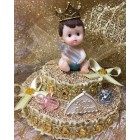 Baby Shower Prince or Princess Cake Topper Centerpiece Decoration Gift