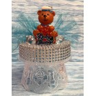 Birthday or Baby Shower Baby Sailor Bear Cake Topper Centerpiece Gift