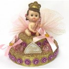 Baby Shower Princess Girl Cake Topper Centerpiece Decoration