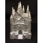 Silver Castle Party Cake Topper or Favor