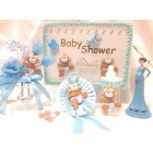 Baby Shower Monkey Boy Guest Book Baby Set