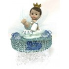 Royal Prince Baby Shower 1st Birthday Centerpiece 7""