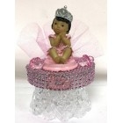 Ethnic Baby Girl Princess Cake Topper Centerpiece Keepsake