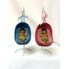 Ethnic Baby In Swing Nest Baby Shower Centerpiece Favor Decoration
