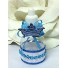 Baby Boy or Girl Royal Prince or Princess Bottle Favors 10 Ct