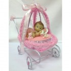 Baby Carriage Baby Shower Centerpiece Decoration Keepsake